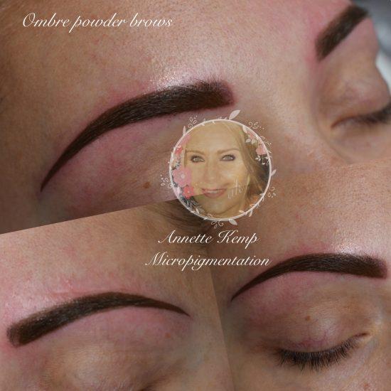 Ombre powder brow