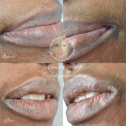 camouflage tattoo for lips