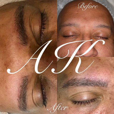 Male microblading