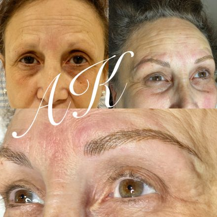 Microblading for mature skin