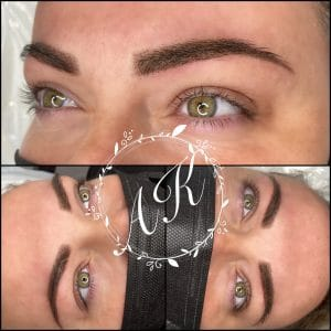 Pixel powder brows - semi permanent eyebrows aftercare