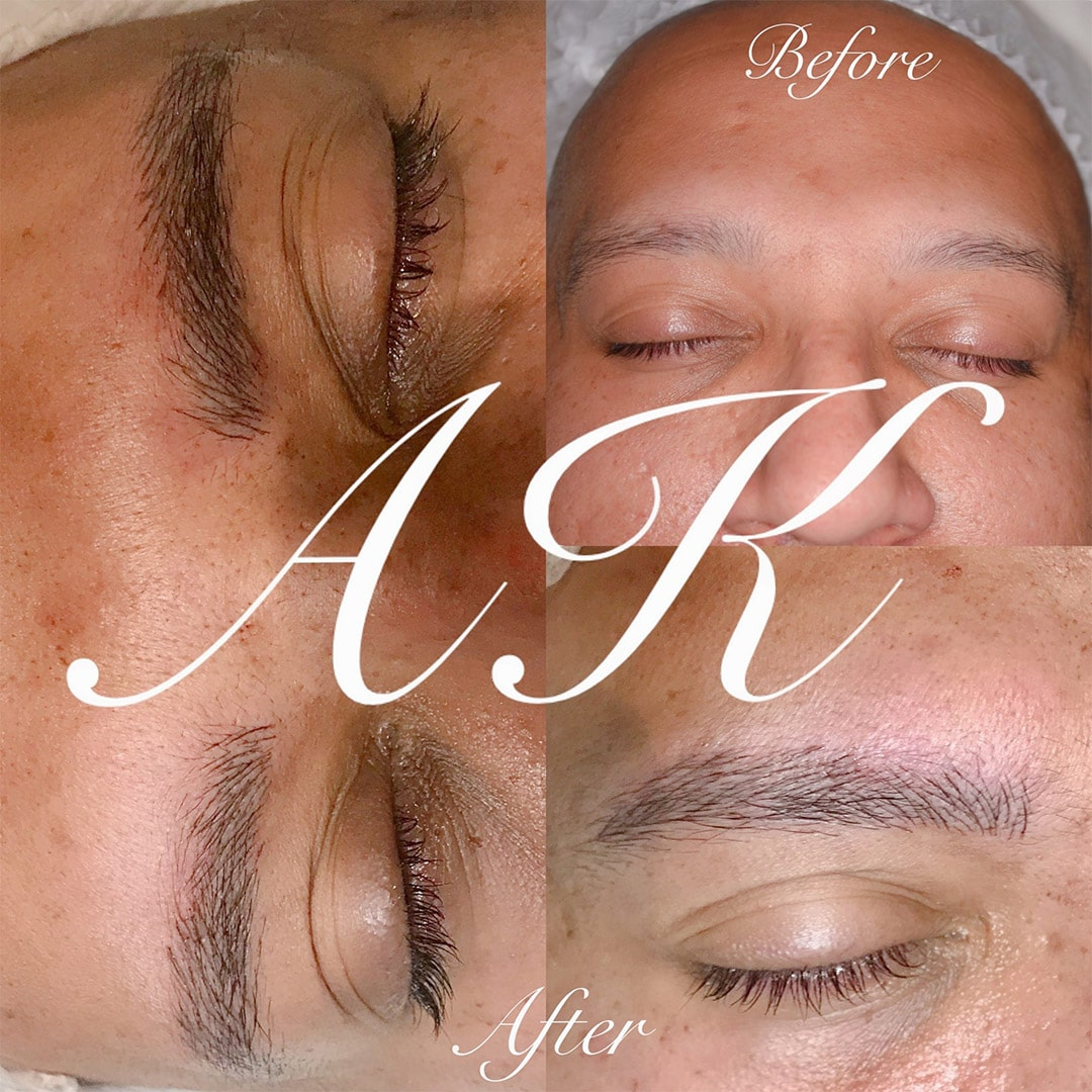 Microblading for men by Annette Kemp