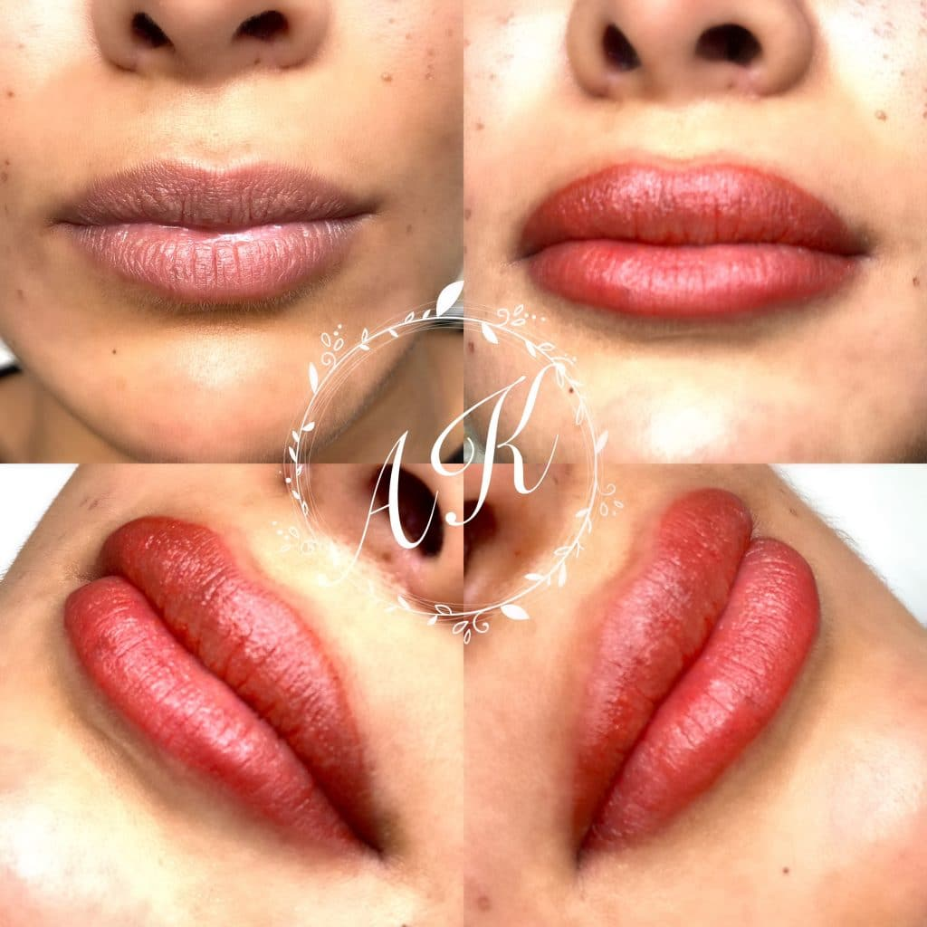 semi-permanent lips